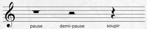 pause solfège
